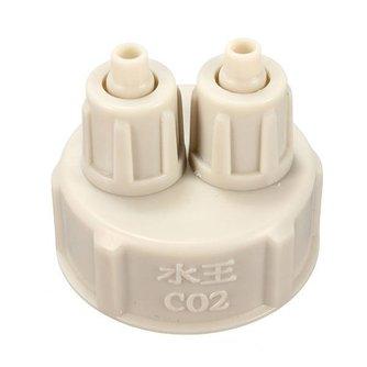 CO2 Aquarium Flessen Dop