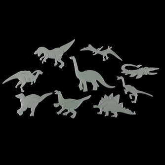 Glow In The Dark Dinosaurus Stickers