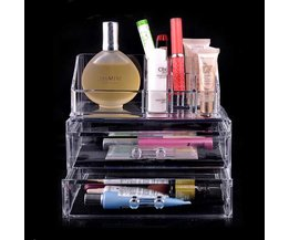 Transparante Make-up Houder