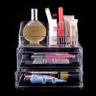 Transparante Make-up Houder