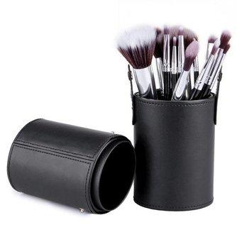 12-Delige Make-up Kwasten Set in Houder