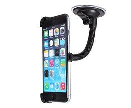 Zwarte autovoorruit Houder voor iPhone 6 plus