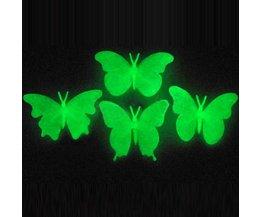 Muursticker Vlinders