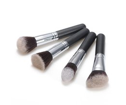 4-Delige Kwastenset voor Make-up