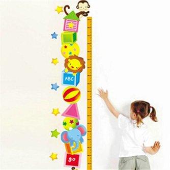Lengtemeter met Dierenstickers