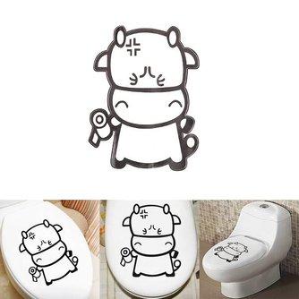 Toiletsticker  Koe