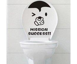 Sticker Voor Je Toilet