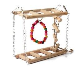 Vogel Speelgoed met Ladders en Ringen