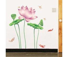Muursticker Lotus