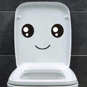 Toilet-sticker Smiley