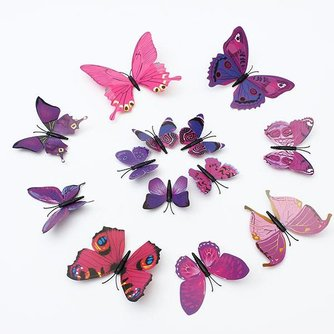 Vlinder Koelkast Magneetjes