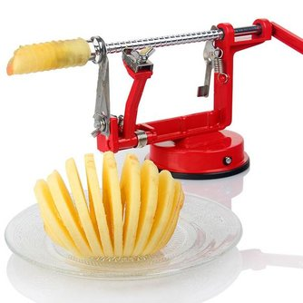 3 in 1 Appelschilmachine