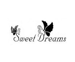 "Muursticker ""Sweet Dreams"""