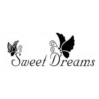 """Muursticker """"Sweet Dreams"""""""