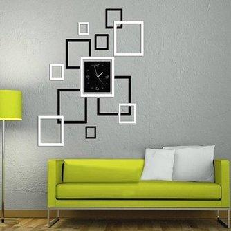 Decoratie Woonkamer Sticker Klok