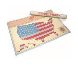 Kraslandkaart Verenigde Staten