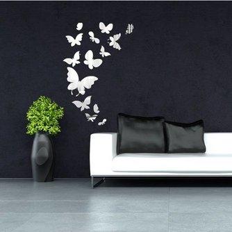 14 Muurstickers met Vlinders