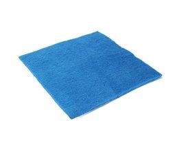Biochemisch Filterspons Katoen Blauw