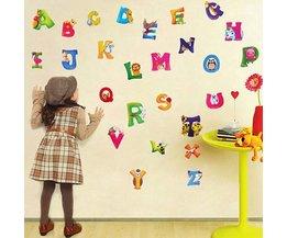Muurstickers Kinderkamer Letters