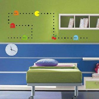 Muurdecoratie Stickers Pacman