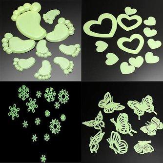 Lichtgevende Stickers 4Zakjes