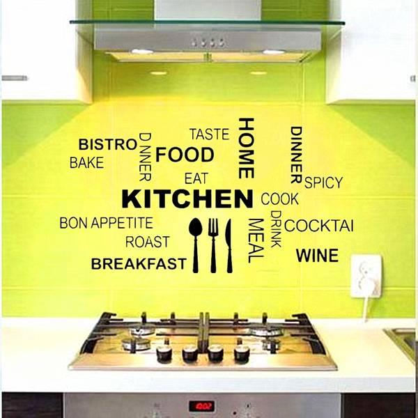 Behang Keuken Tekst : Muursticker huis kopen? Online Internetwinkel