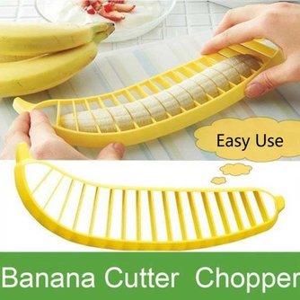 Gele Bananensnijder