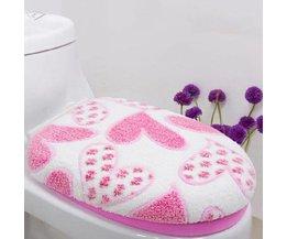 Roze Toilet Hoes