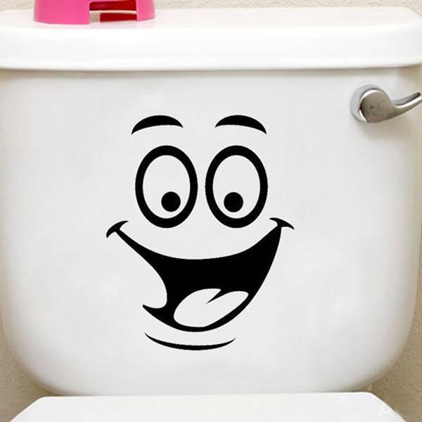 WC Decoreren met Vrolijk Gezicht