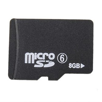Micro SDHC  8gb Geheugenkaart