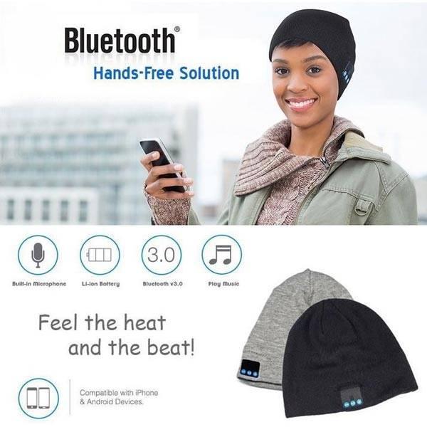 Bluetooth Muts voor Eenvoudig Muziek Afspelen in de Winter