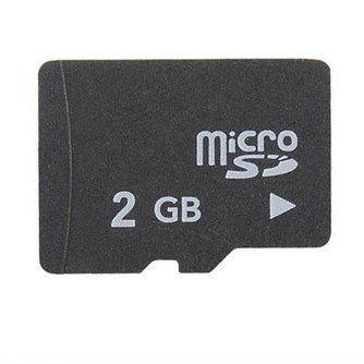MIcro SD-kaart 2GB