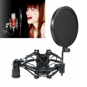 Professionele Microfoon Popfilter