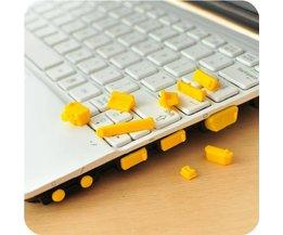 Silicone Antistof Plugs voor de Laptop