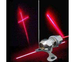 Laser Achterlicht 12V 0,24W oa voor de Motor