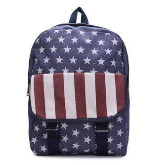 Rugzak met Amerikaanse Vlag Print
