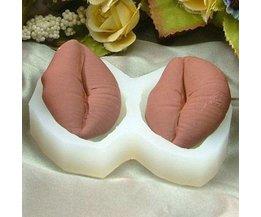 Siliconen Lippen Cakevorm