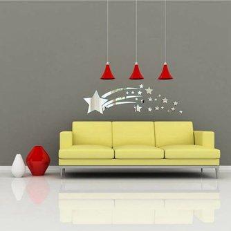Muurdecoratie 3D Sterren