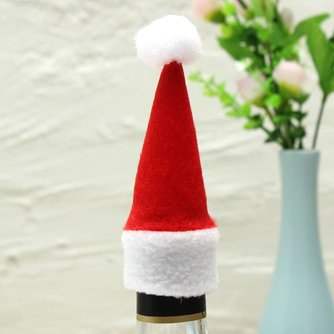 Mini Kerstmuts Voor Fles