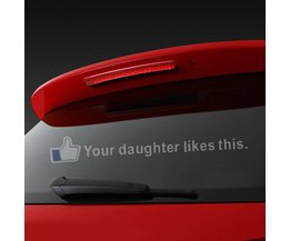 Autosticker Your Daughter Likes This