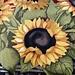 Zonnebloem Placemat van Katoen en Canvas