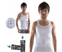Corrigerend Buikverhullend Mannenhemd