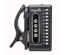 Cherub WST-550VM Digitale Viooltuner