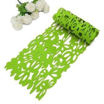 Tafel Loper Met Bloemen