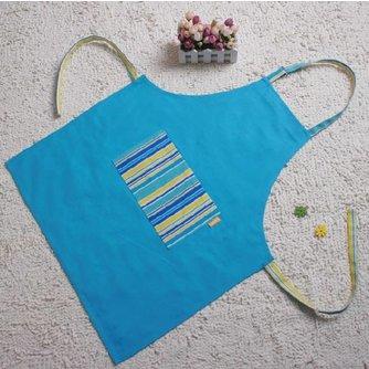 Handig Blauw Keukenschort