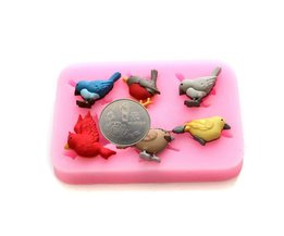 Chocoladevormen Vogels
