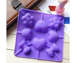 Siliconen Bakvorm Met Lollypatroon