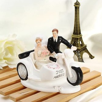 Bruidstaart Versiering Motor