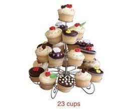 Metalen Standaard Voor Cupcakes