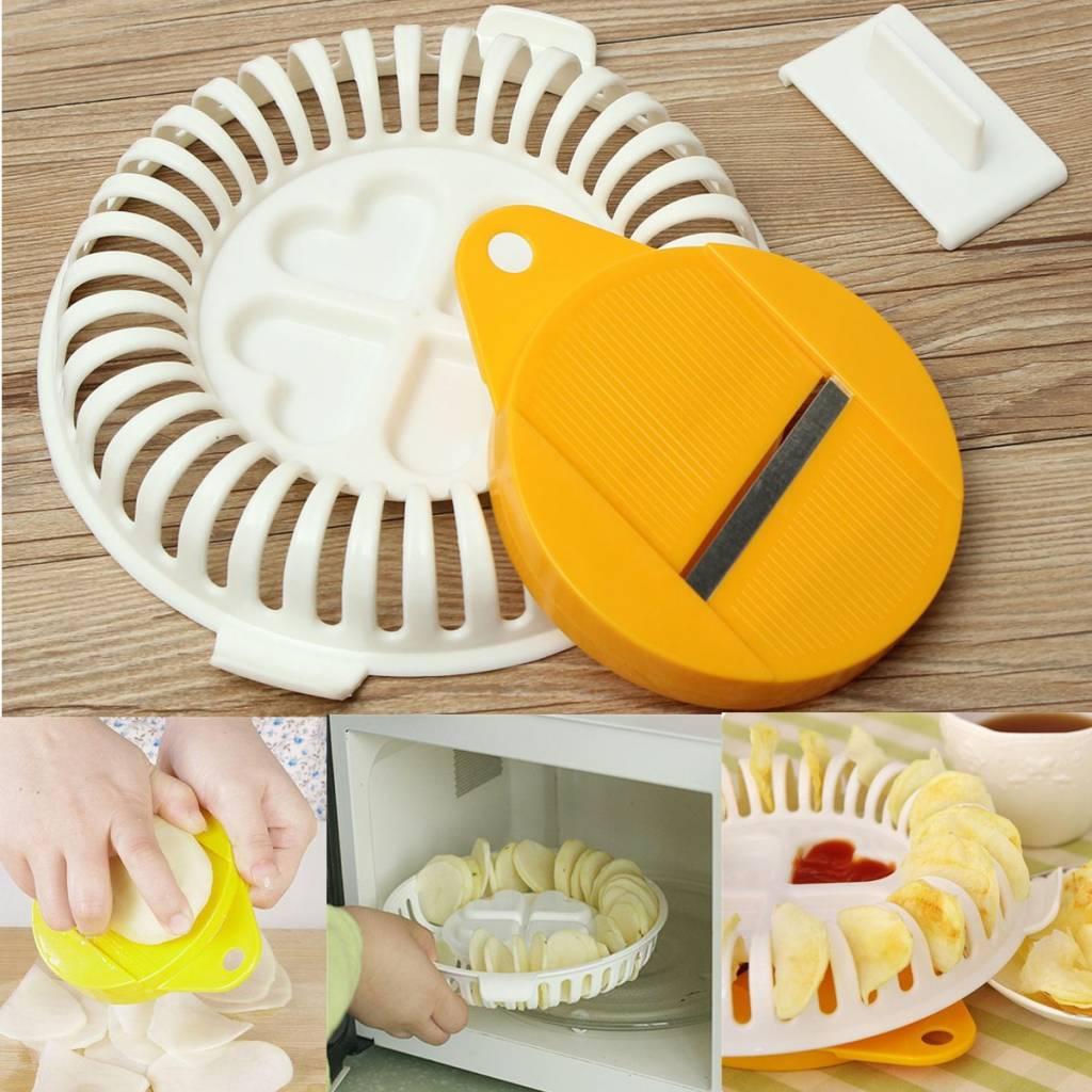 Handmatige snijder voor voedsel i myxlshop supertip for Chips betterave micro onde